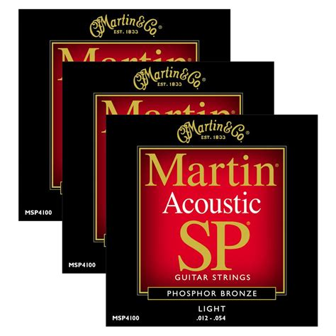 martin light strings martin msp4100 light phosphor bronze acoustic string 3