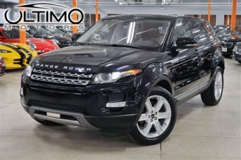 land rover factory warranty find used 2012 land rover evoque 20kmi 1 owner factory