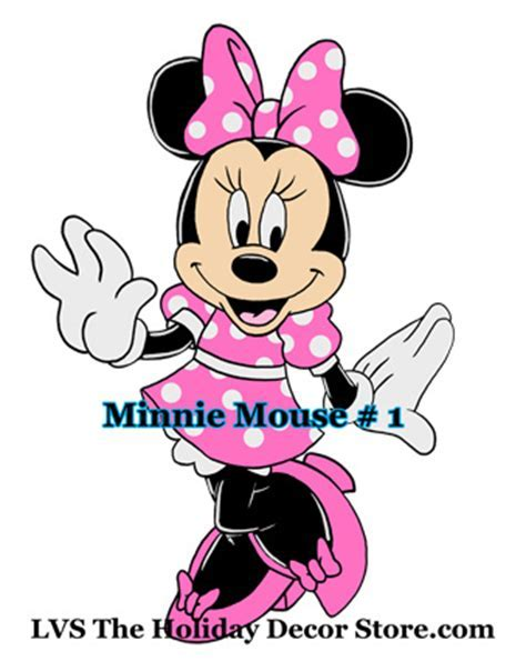 minnie mouse number 1 personalized centerpiece zebra white   Flickr