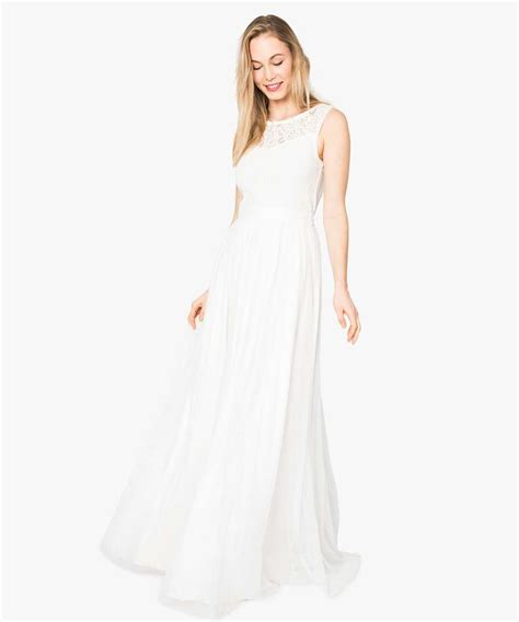 Robe De Mariée Tunisienne En - robe de mari 233 e en tulle et dentelle g 201 mo