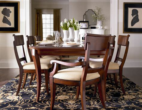 louis philippe dining table by bassett furniture