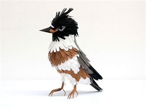 paper bird sculpture paper bird sculptures by diana beltran herrera