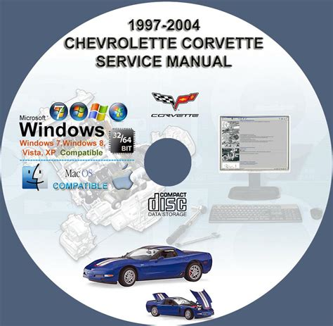 service manual car owners manuals for sale 2004 chevrolet s10 seat position control service chevrolet corvette 1997 2004 service repair manual cd www servicemanualforsale com