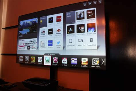 Mount Projector To Ceiling by Hands On With Lg S 100 Inch Hecto Laser Tv Techhive