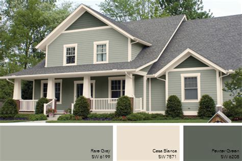 grey house colors green exterior paints on pinterest sage green house