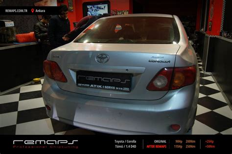 toyota ta chip tuning toyota corolla t 252 m 252 1 4 d4d chip tuning performans yakıt
