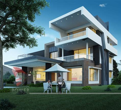 ultra modern home plans modern home design october 2012