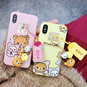 for iphone x xs max xr 8 japan kawaii rilakkuma bell fukubukuro cover ebay