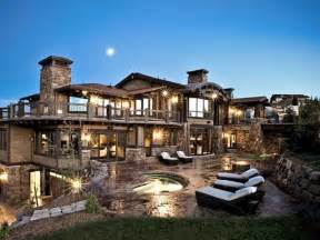 dreamhomes us 19 utah a 219 million mansion in deer valley with an aquarium and dj booth secrets of the fed