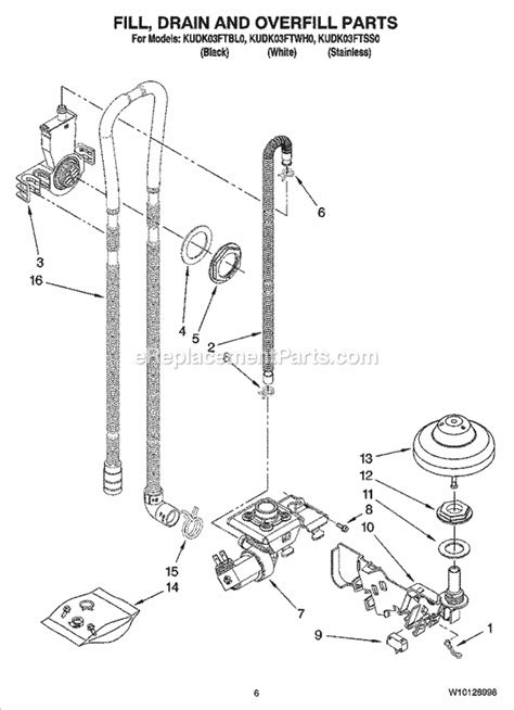 diagrams 800664 kitchenaid dishwasher wiring harness