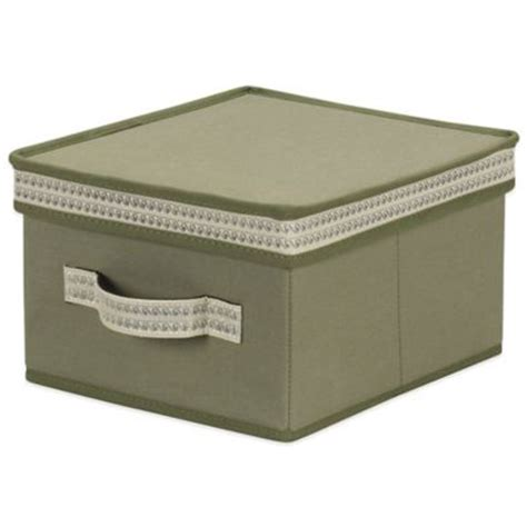 Decorative Storage Bins With Lids by Buy Storage Boxes With Lids From Bed Bath Beyond
