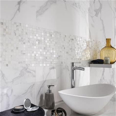 Incroyable Credence Salle De Bain Leroy Merlin #3: faience-mur-blanc-carrare-murano-l-30-5-x-l-91-5-cm.jpg