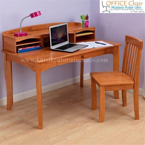 Meja Dan Kursi Belajar set meja dan kursi belajar kayu jati jual kursi kantor
