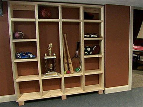 locker room storage diy storage ideas solutions diy