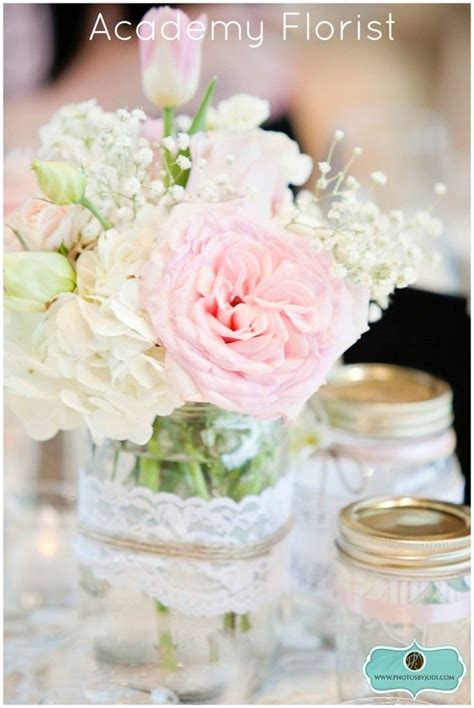 Jar Wedding Flower Arrangements by 42 Best Jar Flower Arrangements Images On