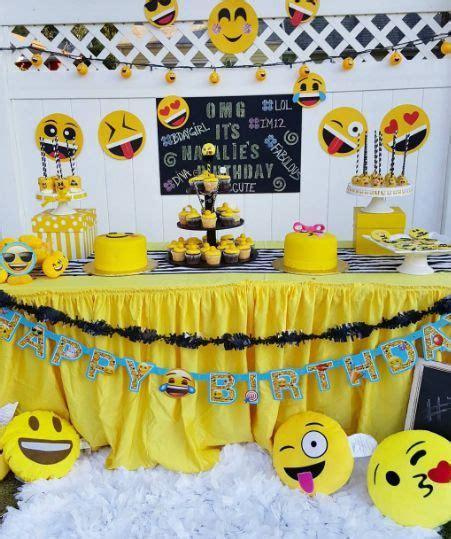 Hermoso  Decoracion Cumple Infantil #7: Decoracao-festa-emoji-13.jpg