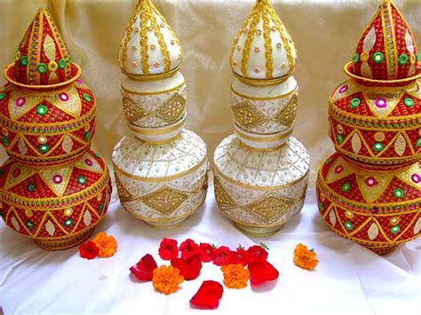 Wedding Kalash And Thali Decor Tips   Decoration Ideas For