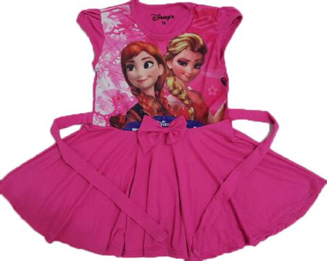Dress Cewek Fanta dress elsa frozen fanta 4 14th pusat grosir baju anak branded kaos anak disney www
