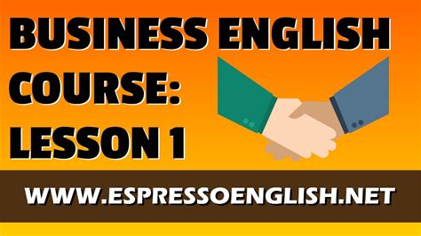 film love lesson sub indo business english course lesson 1 essential job voca