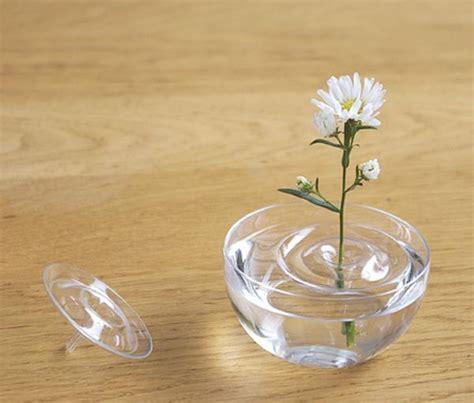 Floating Flower Vase by Invisible Ripple Vases For Floating Flower Arrangements