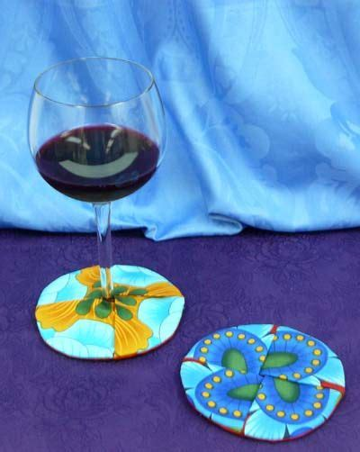 pattern for fabric wine coasters circle wine coasters tutorial clever coasters with a