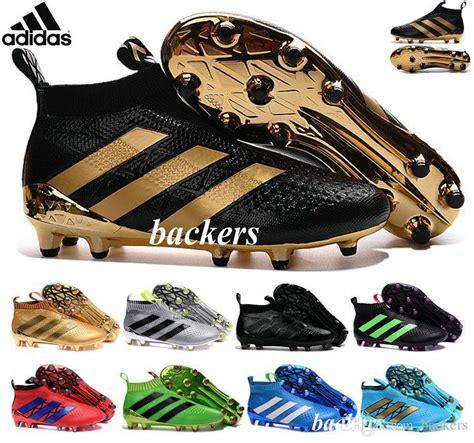 2017 originals adidas ace 16 purecontrol fg soccer shoes boots slip on cheap original