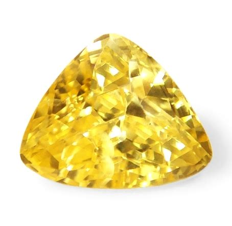 Sapphire No Heat 1 23 Cts yellow sapphires unheated and untreated stones