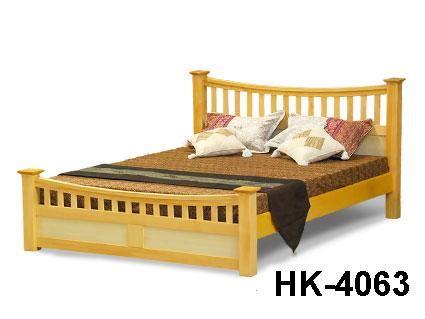 Ranjang Siantano hakari ranjang ganda kayu hk 4063 kemenangan jaya furniture