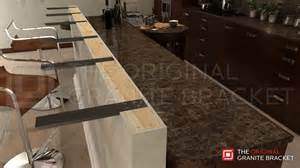 Floating Bar Top by Counter Top Support Bracket Countertop Corbel Knee Pony Wall