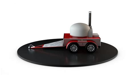mobile oven mobile wood fired pizza oven pizza trailer catering