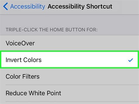 iphone invert colors 2 easy ways to invert colors on an ios device wikihow