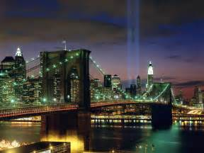 Lighting Ny Tribute In Light New York City Wallpapers Hd Wallpapers