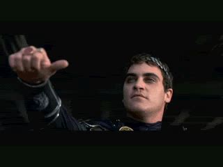 joaquin thumbs gif find on giphy