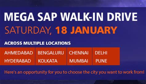 Mba In Tcs Kolkata by Tcs Mega Sap Walk In Drive On 18th January 2014