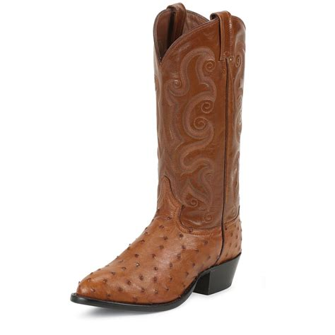 ostrich boots s tony lama 174 13 quot quill ostrich western boots