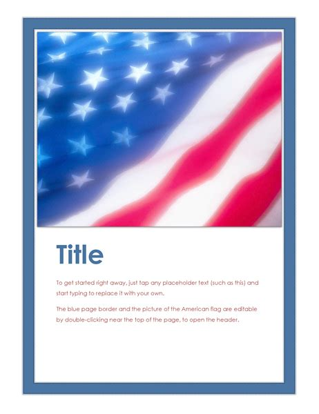 American Flag Flyer Office Templates Free American Flag Flyer Template
