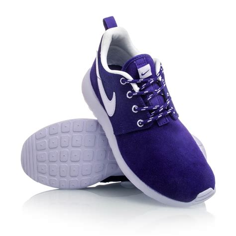 shoes for children nike rosherun gs casual shoes purple violet