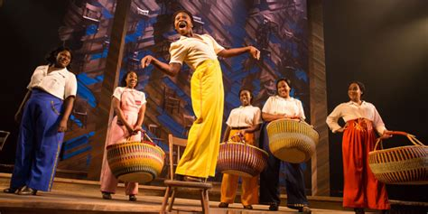 the color purple broadway cast tony winning color purple revival to open 2018 2019 season