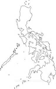 Philippines Map Outline by Philippines Maps