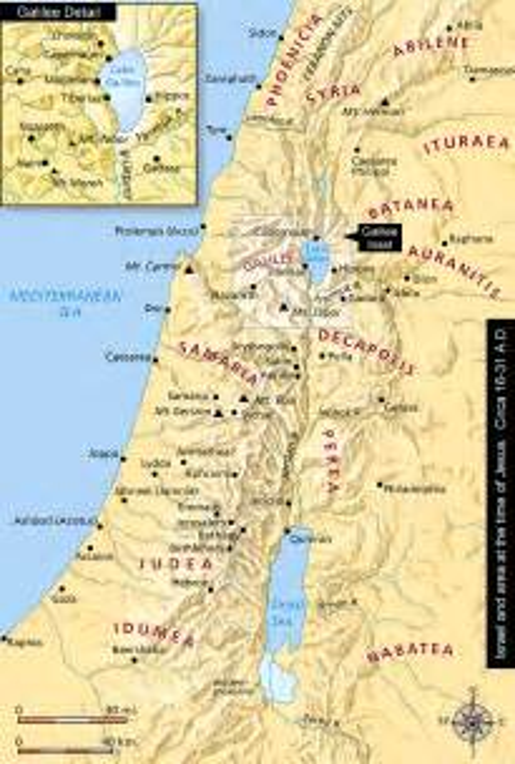 biblical map of israel bible history map jesus yahhoozmaps us