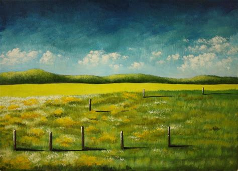 Landscape Paintings How To Simple Landscape Paintings On Behance