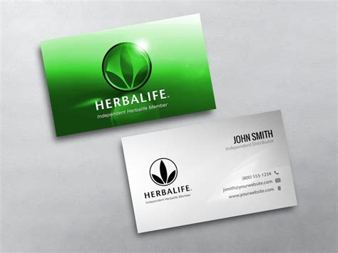 herbalife business card template herbalife business cards free shipping