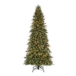 10 pre lit led meadow quick set artificial christmas tree