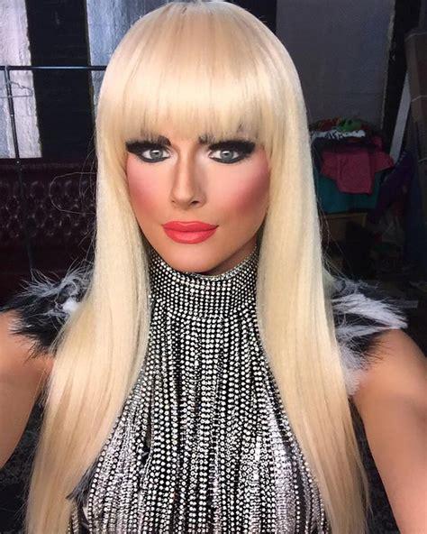 transgender makeover in ohio nail crossdresser heavy makeup crossdresser hair updo