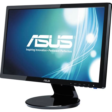 Monitor Led Pc asus ve198t 19 quot led backlit widescreen computer ve198t b h
