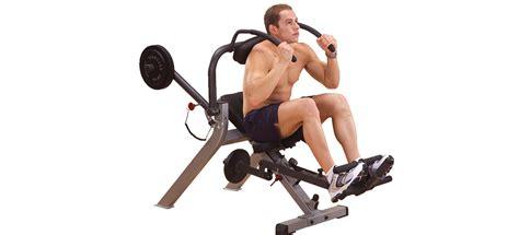 ab crunch exercise  machine
