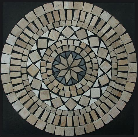 fliese ornament 1 x mosaik ornament aus marmor 60 cm x 60 cm ein hingucker