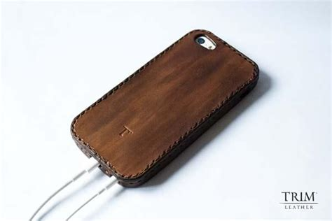 Handmade Leather Iphone Cases - the handmade leather bumper iphone 5 gadgetsin