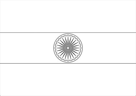 coloring page of indian flag lavishly indian flag coloring page to download 36 on 2822