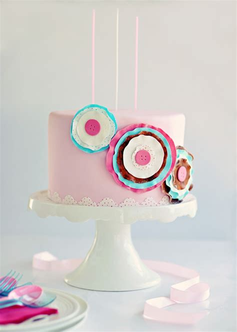 Paper Birthday Cake Craft - paper craft sugar posy cake guest post for paper cakes
